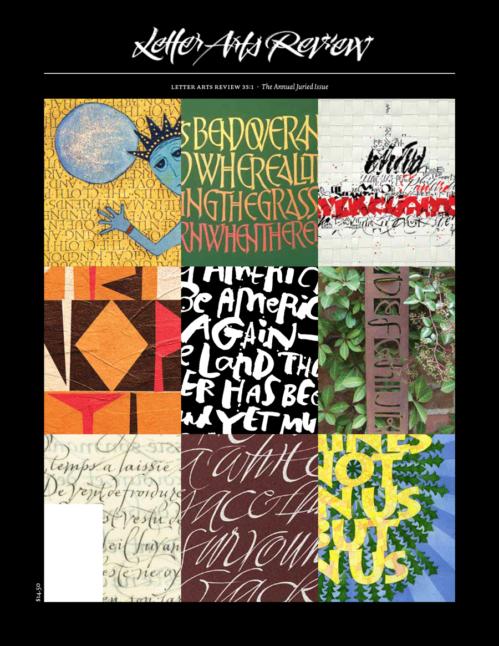 Letter Arts Review: Christopher Calderhead  Editor and Designer